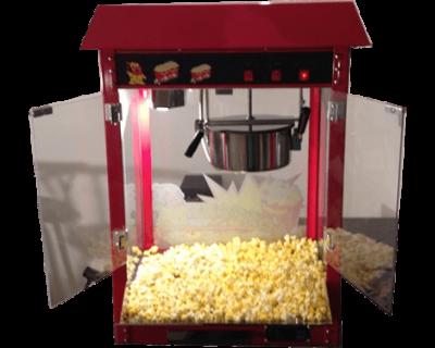 harlans popcorn machine